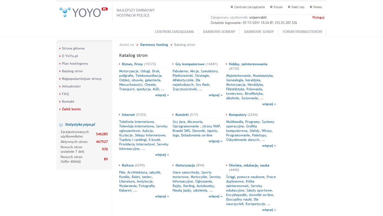 Bug na yoyo.pl